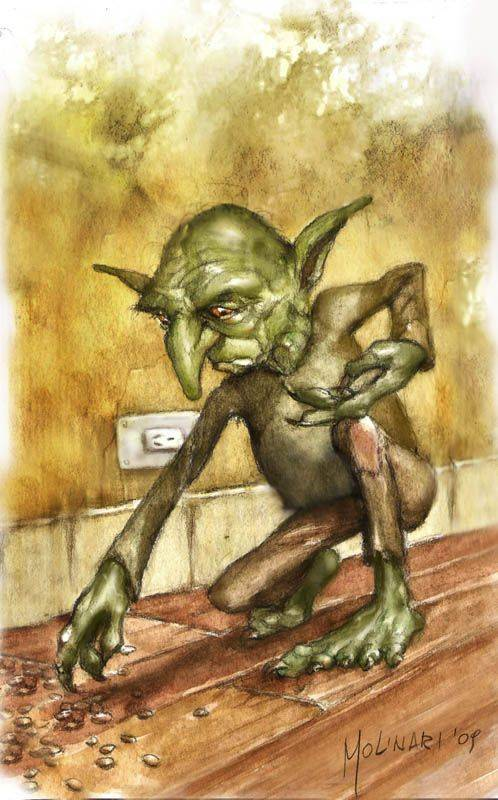 Устрашающий гоблин — мрачное существо из подземелья