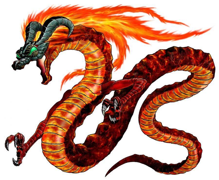 Огненный змей » страшные истории