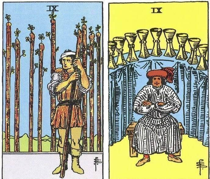 Значение 9 (девятки) кубков таро в разных гаданиях и сочетаниях