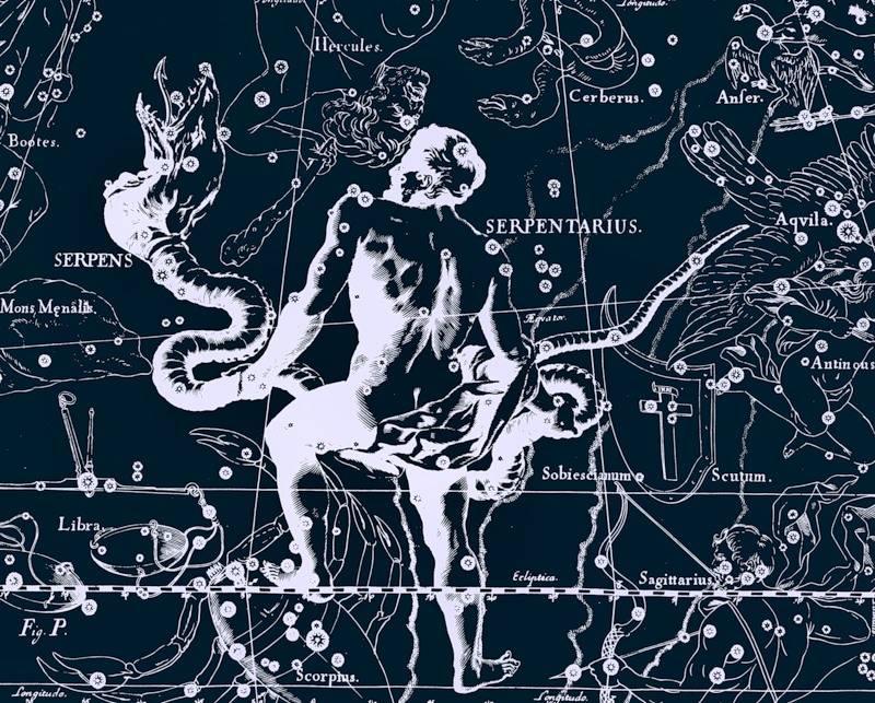 Змееносец 13 знак зодиака характеристика, дата рождения. змееносец гороскоп 2021