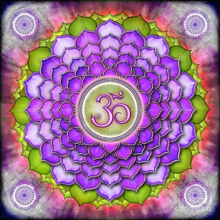 Сахасрара чакра (коронная) — седьмая чакра человека.