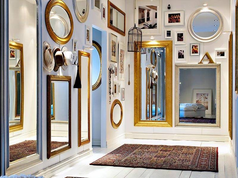 Магия зеркала в квартире фен шуй