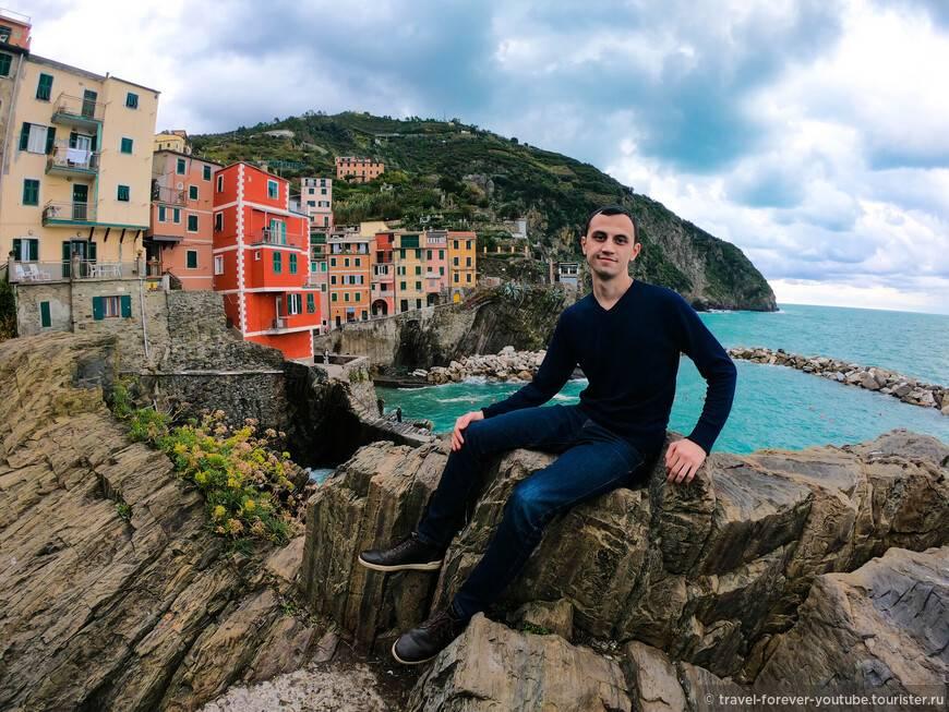Удивительная италия: красочный город манарола, будто нарисованный талантливым художником