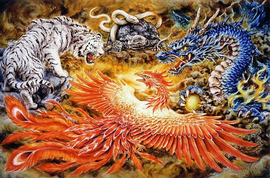 Птица феникс по фен-шуй: активация и история талисмана