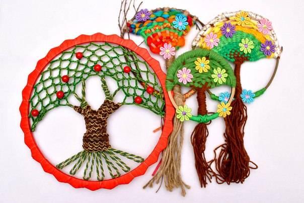 Мастер-класс плетение древо жизни мк бисер бумага проволока