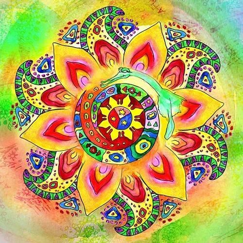 Мандала буддийская, числовая, индийская - как применять для исполнения желаний, привлечения любви, счастья