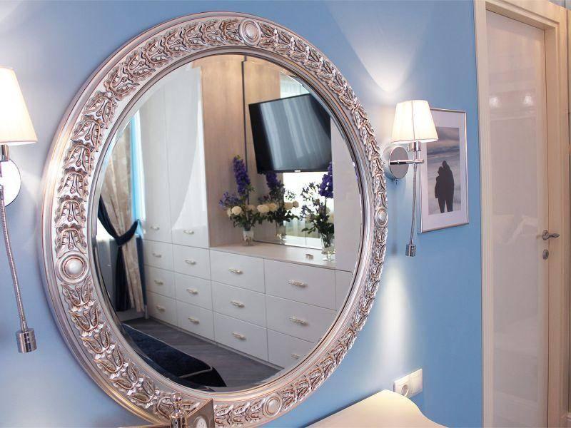 Где повесить зеркало в прихожей по приметам и фэншуй