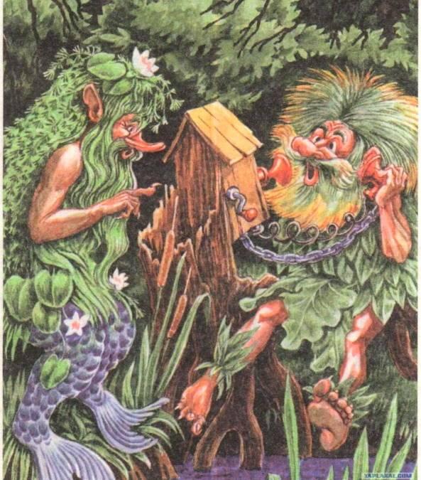 Дух шишига в славянской мифологии
