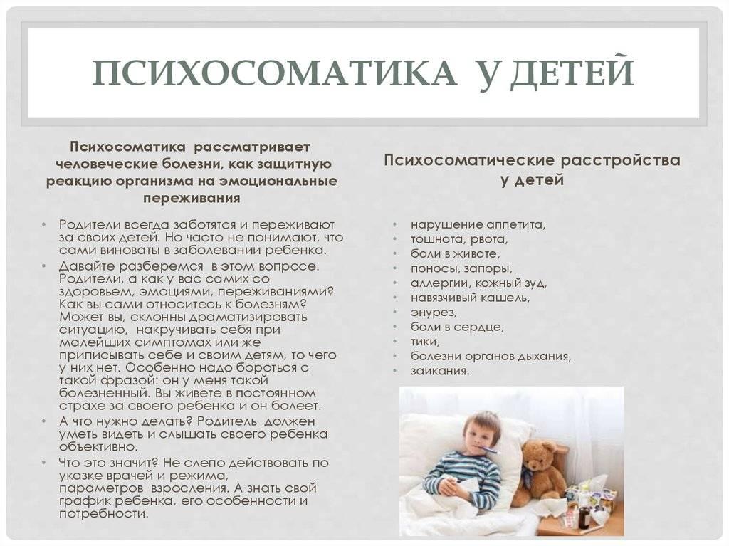 Психосоматические заболевания, лечение психосоматики в москве