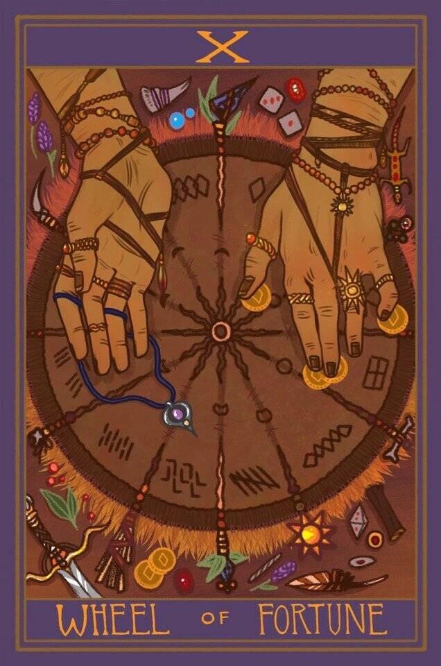 Таро колесо года: значение, толкование карт колоды