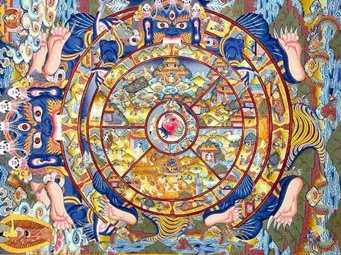 Колесо сансары в буддизме - как вырваться из круговорота страданий