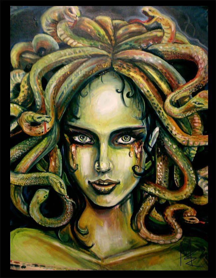 Медуза горгона в древней греции, кто это такая, чем знаменита