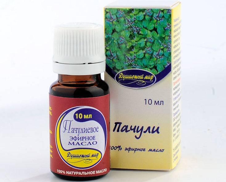 Эфирное масло пачули: полезные свойства и применение