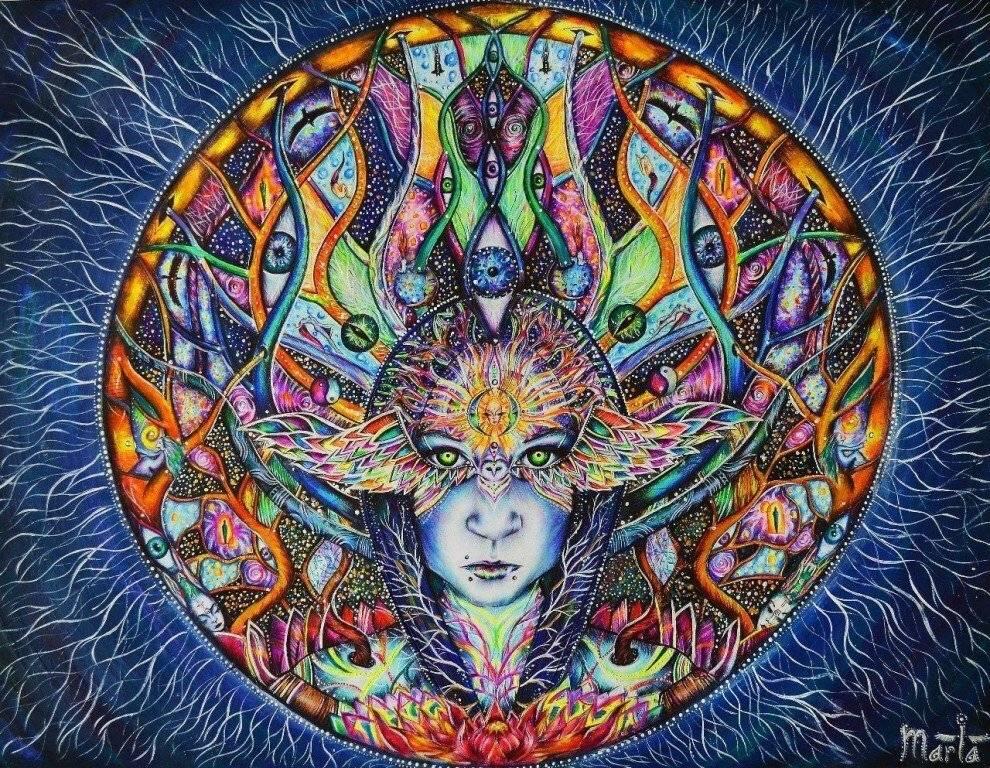 Твоя йога. открытие третьего глаза.