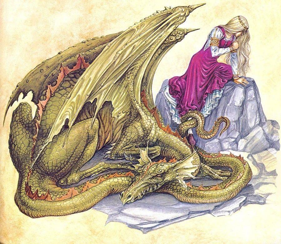 Змей горыныч: былинный персонаж или реальный змей-рептилоид