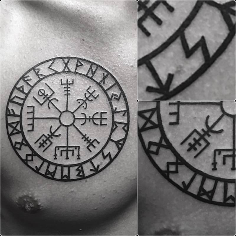 Татуировки обереги: виды и значения